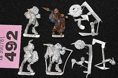 Games Workshop Mordheim Beastmen Warband Beastman 5 Metal Figures Warhammer Rare