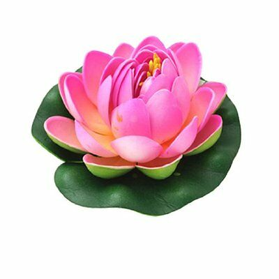 sourcingmap Aquarium Decoration Flower Lotus Plant Fish Ornament