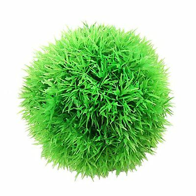 Sourcingmap Plastic Aquarium Moss Ball Plant/Grass, 4 7/10-inch, Green