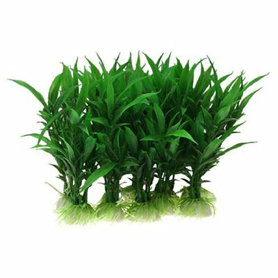 Sourcingmap Plastic Aquarium Plants/Aquatic Grass, Green