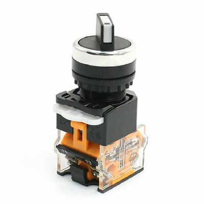AC15 230V/380V 5.5A Double Position DPST Self Locking Rotary Switch