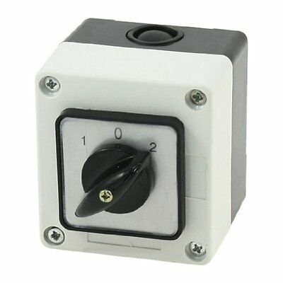 Ui 660V Ith 10A 3 Positions 3-Phase Rotary Universal Changeover Switch