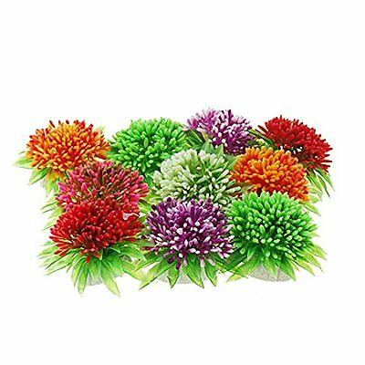 Sourcingmap Plastic Aquarium Fish Flower Shaped Plants Ornament • EUR 15,83