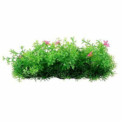 Sourcingmap Plastic Fish Tank Aquarium Underwater Plant/Lawn Decoration, Green