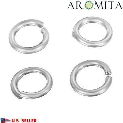 Wholesale Stainless Steel Open Jump Rings Jewelry Findings 12mm Dia 12 Gauge