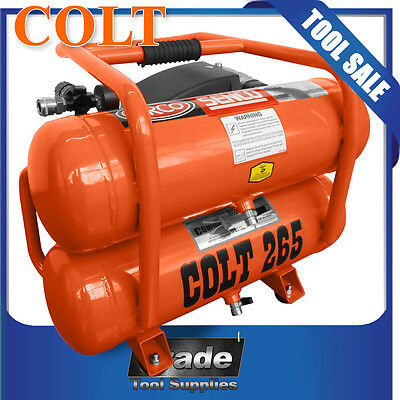 Colt 265 2.0HP 16Lt Twin Tank (Carry) Compressor