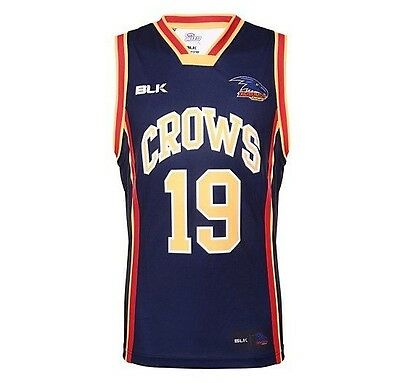 Adelaide Crows 2016 AFL Basketball Singlet 'Select Size' S-3XL BNWT