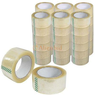 "36 Rolls Box Carton Sealing Packing Packaging Tape 2""x110 Yards (330'ft)"