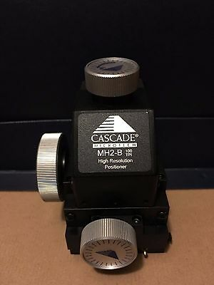 *Offer* CASCADE MICROTECH / ALESSI MH2-B HI-RESOLUTION MICRO POSITIONER 100 TPI