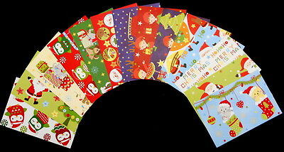 """*CUTE CHRISTMAS* Colourful Christmas Scrapbooking Papers *15cm x 10cm (6 """"X 4"""")"""