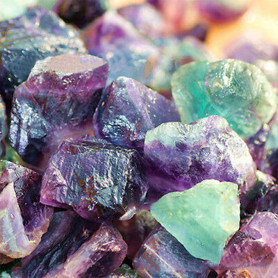 100g Natural Rare Fluorite Crystal Stone Rock Gemstone Gem Specimen Home Decor