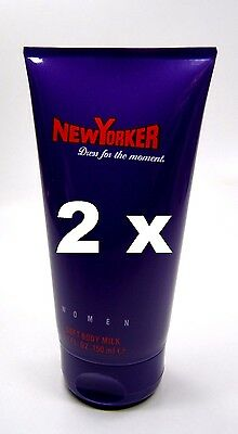 New Yorker Dress for the moment Body Lotion / Milk 300 ml in 2 Tuben a 150 ml