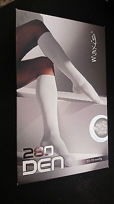 Maxis Relax Compression Stockings Knee Highs Travel Socks Class 1 BLACK ONLY