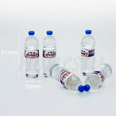 4X Dollhouse Miniature Bottled Mineral Water 1//6 1//12 Scale Model Home Decor Bc