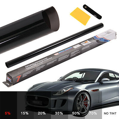 PRO LIMO BLACK 5% CAR WINDOW TINT ROLL 6M x 76CM FILM TINTING