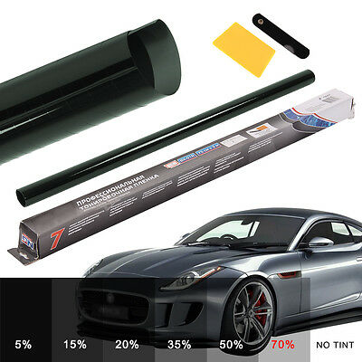 PRO 70% CAR WINDOW TINT ROLL 6M x 76CM FILM TINTING SHALLOW ULTRA LIGHT