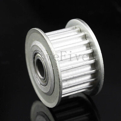 HTD3M 3M-20T-11 3mm Pitch 4/5/6mm Bore Timing Belt Idler Pulley With Bearing