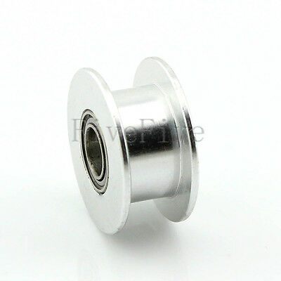20T Smooth Idler Pulley With Bearing For 6mm MXL GT2 Timing Belt 3D Printer