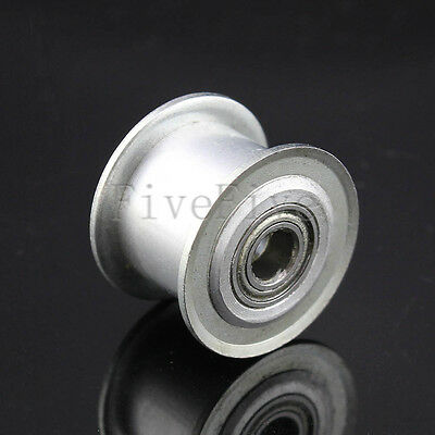 Smooth Idler Pulley With Bearing For 10mm Width GT2 XL MXL HTD3M 5M Timing Belt