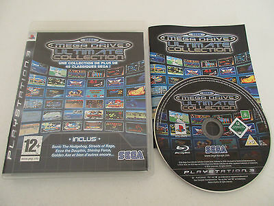 Sega Mega Drive Ultimate Collection - Sony Playstation 3 - Jeu Ps3 Complet