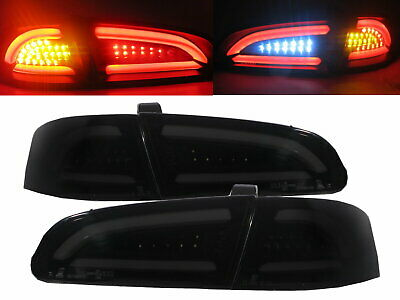 IBIZA 6L 2002-2006 LED BAR Feux Arrieres V2 SMOKE for SEAT LHD