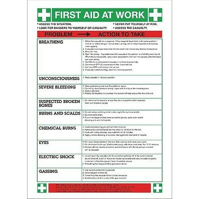 Signs and Labels Safety Sign First Aid At Work WC61