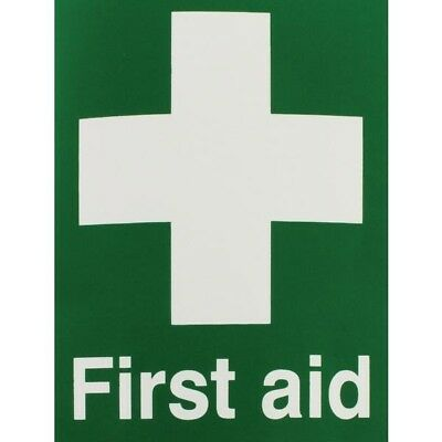 Signs and Labels Safety Sign First Aid 150x110mm Self-Adhesive EO4X/S