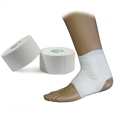 UP Hypoallergenic Strapping Injury Pain Sports Zinc Oxide Tape 3.8cm x 13.7m