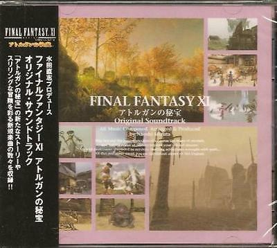 MICA-0683 FINAL FANTASY XI Treasures of Aht Urhgan Soundtrack Miya Records CD