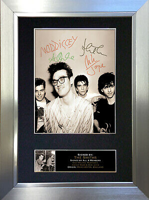 THE SMITHS Signed Autograph Mounted Photo Reproduction A4 Print no115