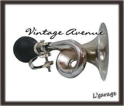 [Lg1704] Stylish Retro Classic Bike Horn W/ Rubber Bulb (C)