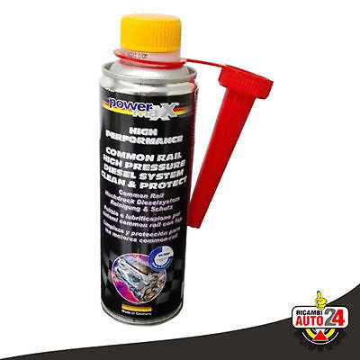 Additivo Common Rail High Pressure FAP Pulitore Iniettori Diesel 375 ml POWERMAX