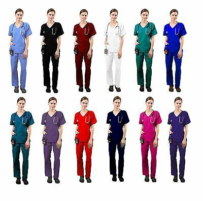 Women's Super Comfy Medical Scrubs set and Nursing Uniform