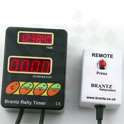 Classic Rally Car Brantz Clock Timer Stopwatch