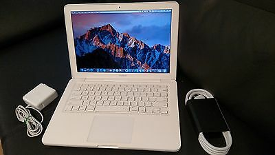 "Apple MacBook White.13"" a1342. MC207ll/A 250GB HDD/ 8GB RAM.OS High Sierra 2017!"