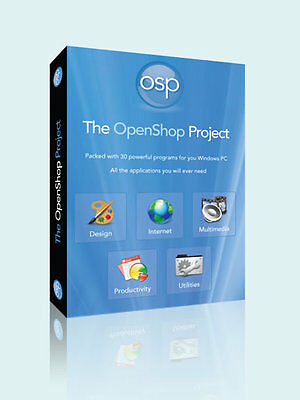 Office Professional Word Processor 2016 Software For Windows 7 10 NEW Openoffice