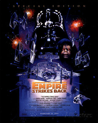The Empire Strikes Back - Special Edition Poster Card 28 X 36cm Wall Decor Art