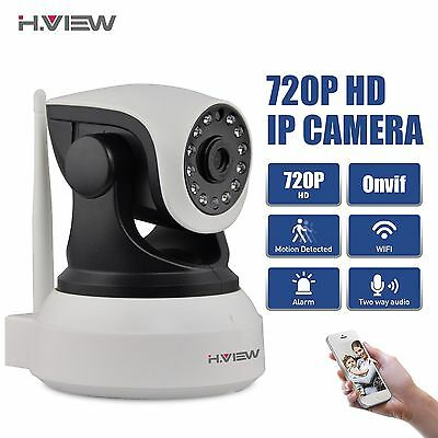 HD Wireless WiFi 720P IP Camera Home Security Network CCTV Night Vision System