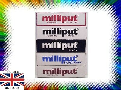 Milliput Epoxy 2 Part Putty -Choice of 5 Colours -1000's of Uses -1st Class Post