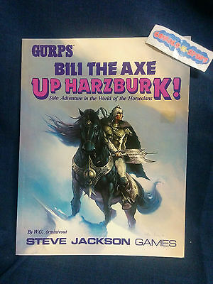 GURPS Bili The Axe Up Harzburk! Solo Adventure by Steve Jackson Games (RPG)