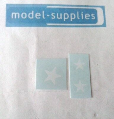 Corgi 357 Land Rover US Army stars decals set - suit military repainters