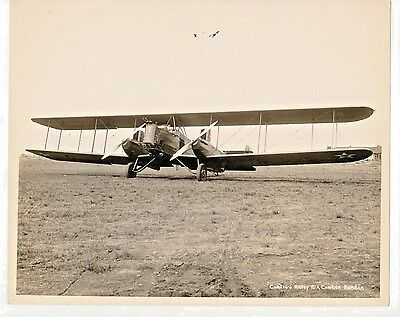 "Original late 1920's 8""x10"" Picture of the 1st Curtiss B-2 Condor Bomber"