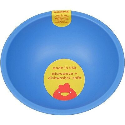 Lollaland Mealtime Bowl: Made in USA, Microwave-Safe, Sold Individually