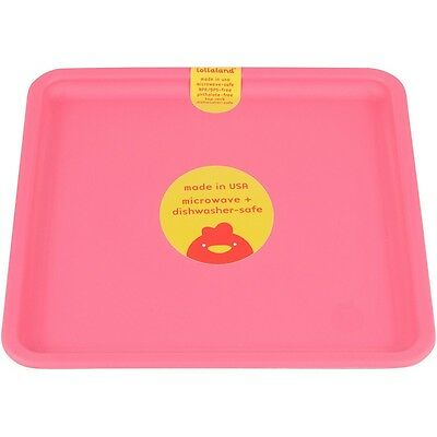 Lollaland Mealtime Plate: US-made , Microwave-Safe, Kid-Sized, Sold Individually
