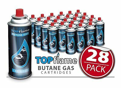28 Butane Gas Bottles Canister Camping Heater Cooker Bbq Cooking Stove Grill