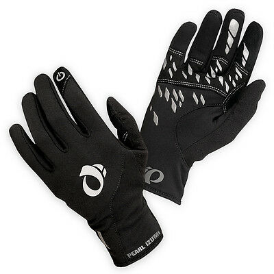 NEW Pearl Izumi Men's Thermal Conductive Gloves Full Finger Bicycle Black Large
