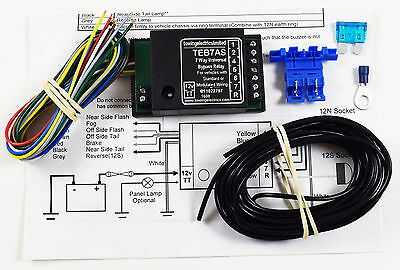 7 Way Smart Bypass Relay Kit For Cambus & Multiplex Wiring Tracked Delivery