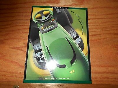 2002 John Deere Spin-Steer Technology Literature