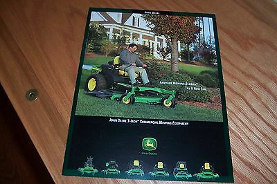 John Deere 7-Iron Commercial Mowing Equipment  2003 Literature
