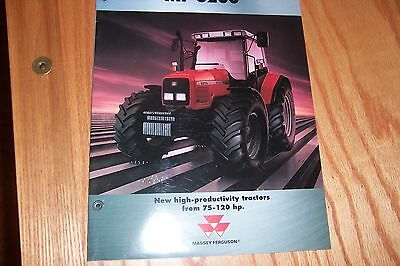 MF 6200 Series 2-pieces TRACTOR LITERATURE